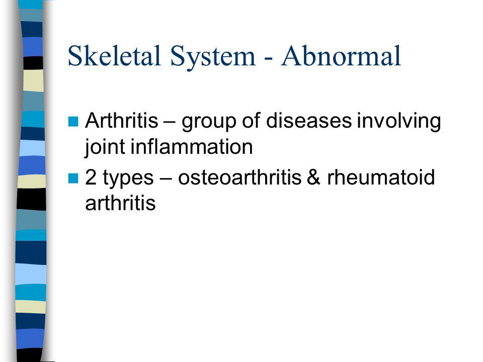 Skeletal System - Abnormal