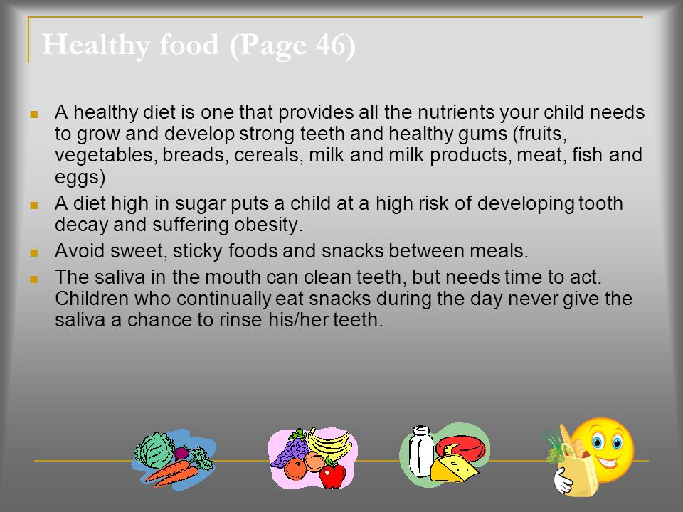 Healthy food (Page 46)
