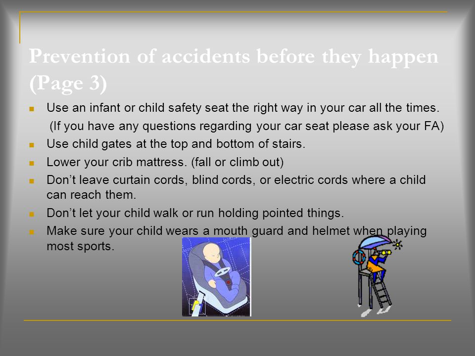 Prevention of accidents before they happen (Page 3)