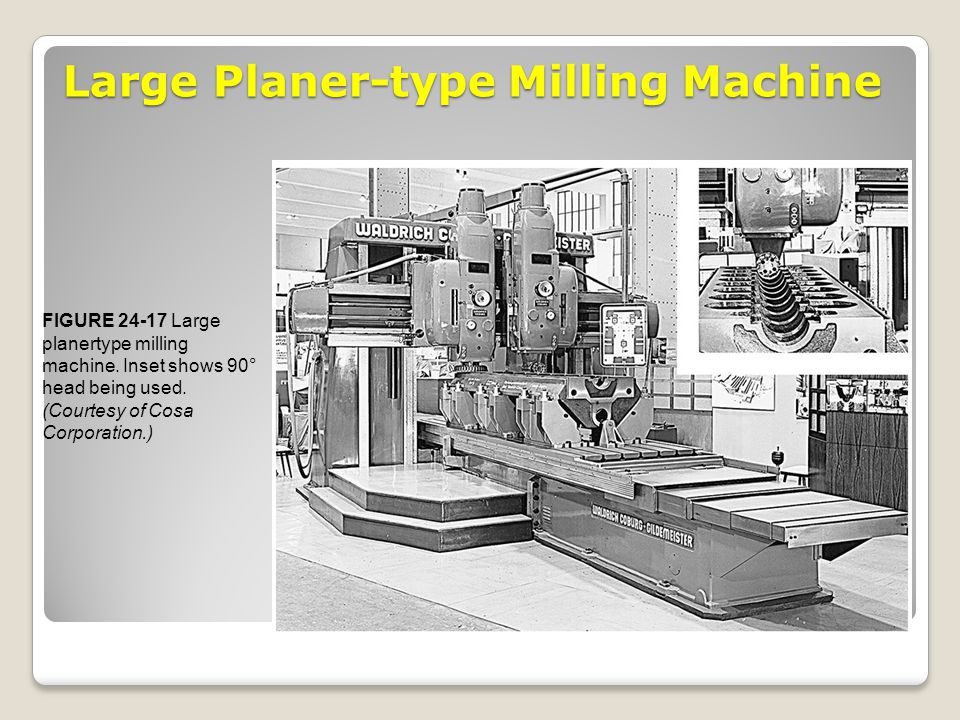 Large Planer-type Milling Machine