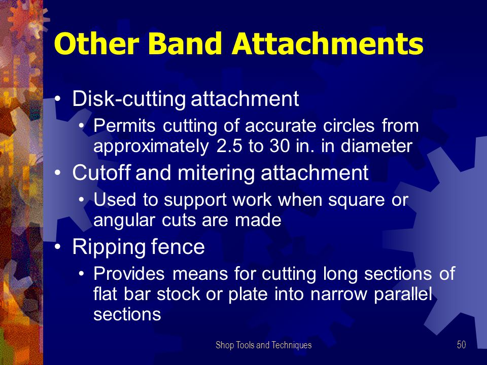 Other Band Attachments