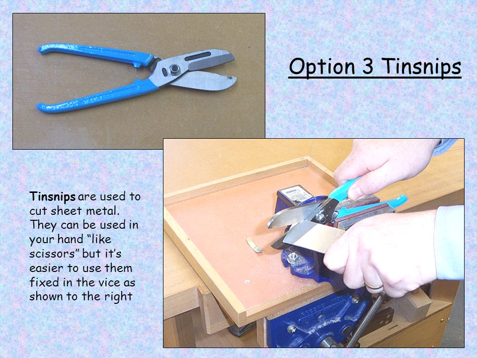 Option 3 Tinsnips