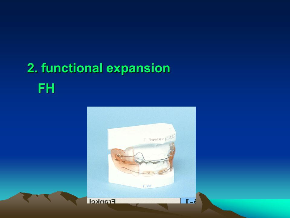 2. functional expansion FH