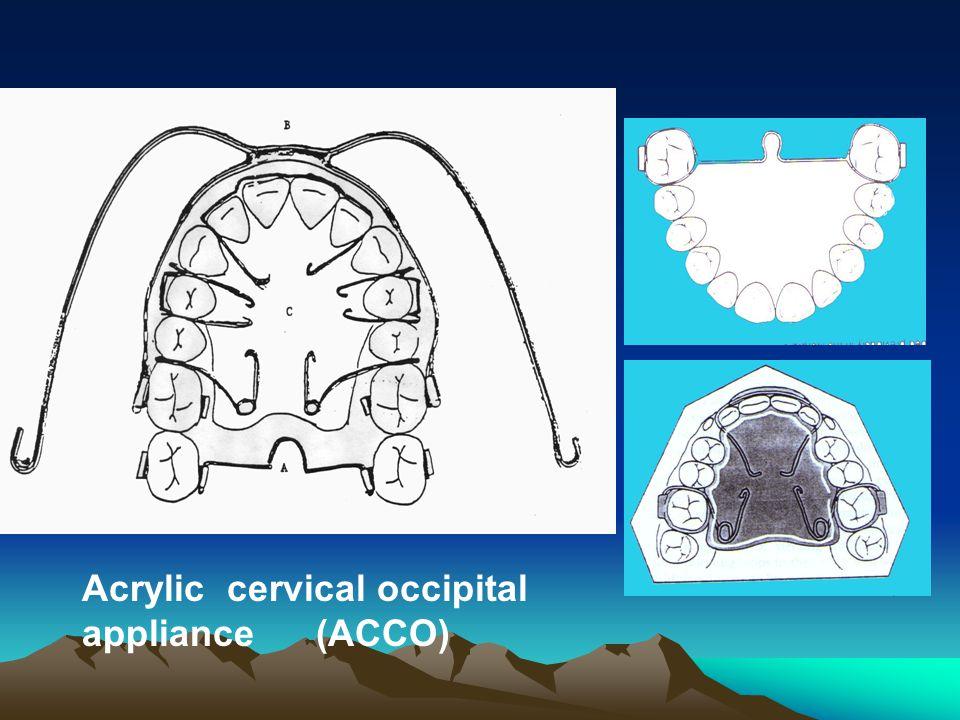 Acrylic cervical occipital appliance (ACCO)