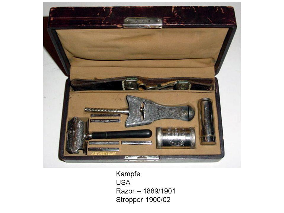 Kampfe USA Razor – 1889/1901 Stropper 1900/02