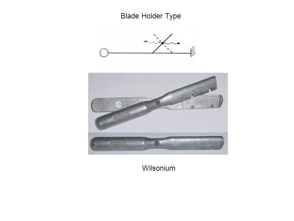 Blade Holder Type Wilsonium