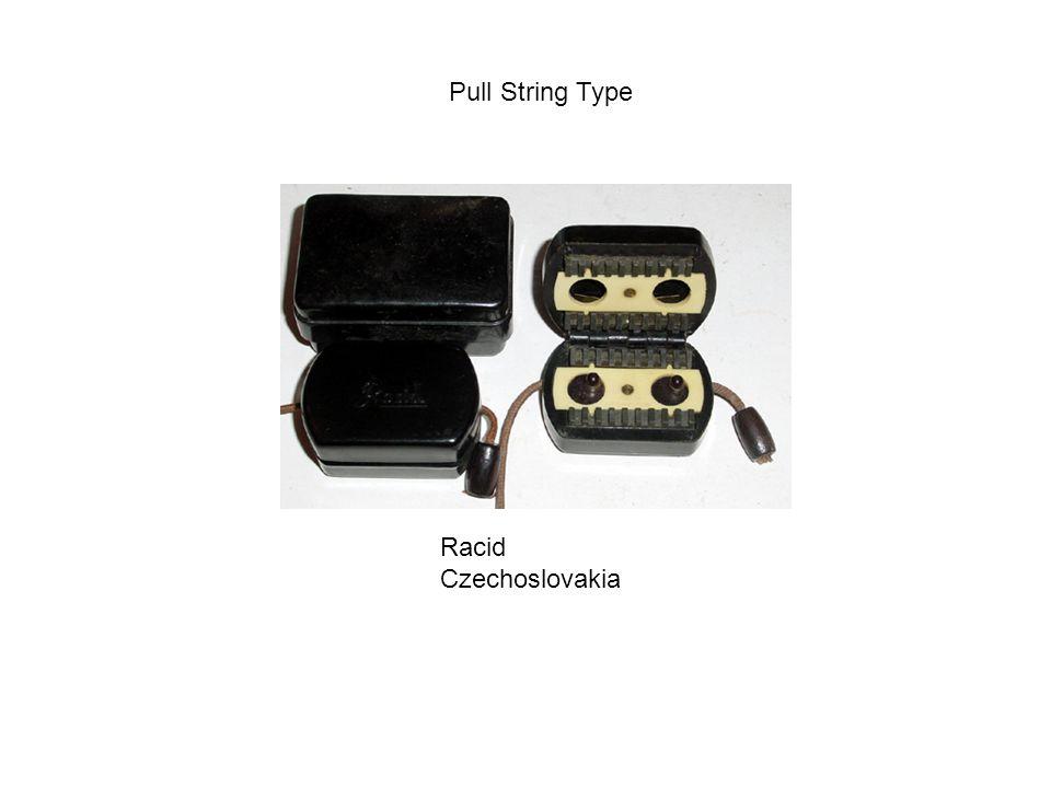 Pull String Type Racid Czechoslovakia
