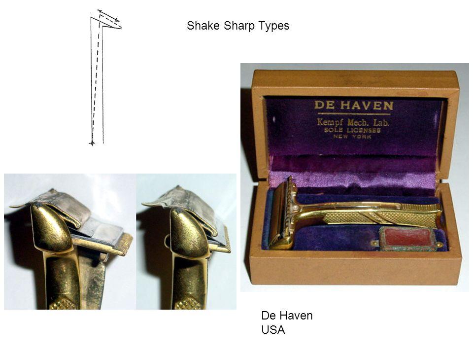 Shake Sharp Types De Haven USA