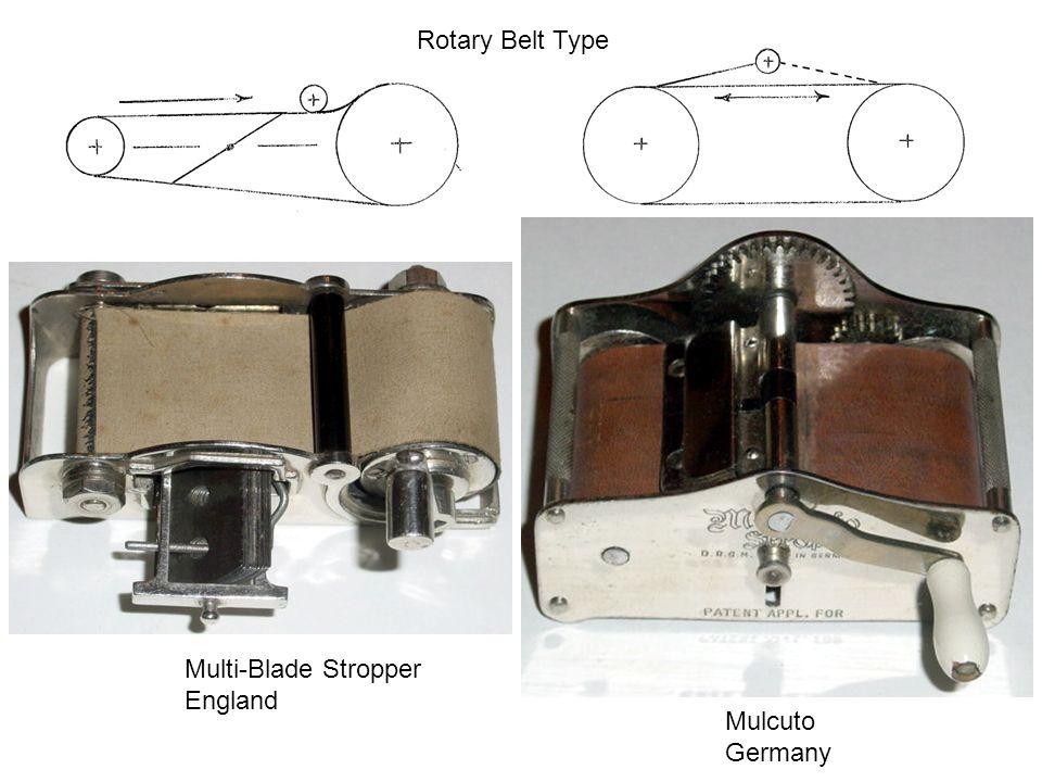 Rotary Belt Type Multi-Blade Stropper England Mulcuto Germany