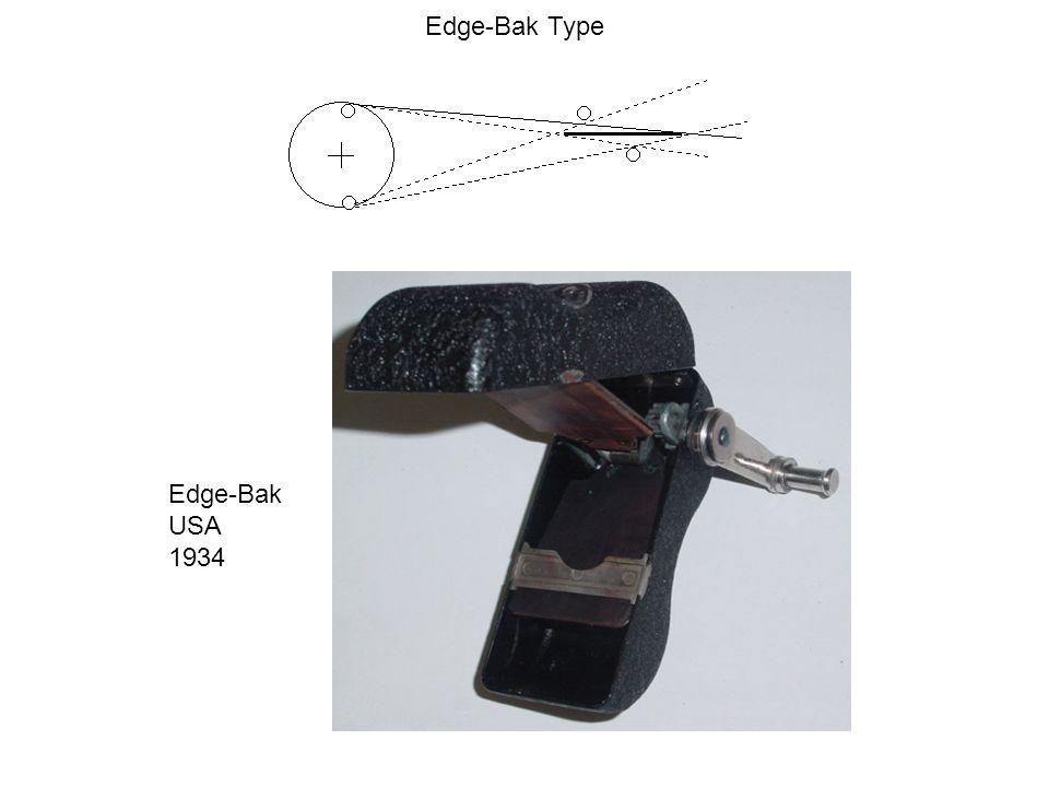 Edge-Bak Type Edge-Bak USA 1934