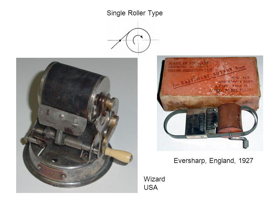 Single Roller Type Eversharp, England, 1927 Wizard USA