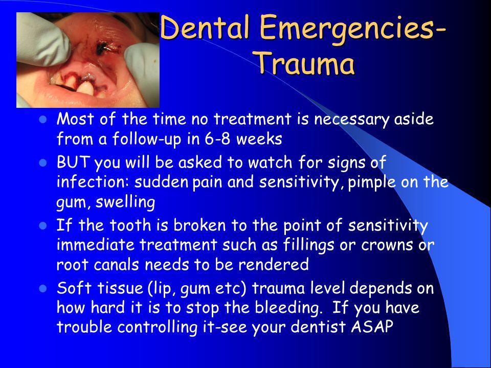Dental Emergencies-Trauma