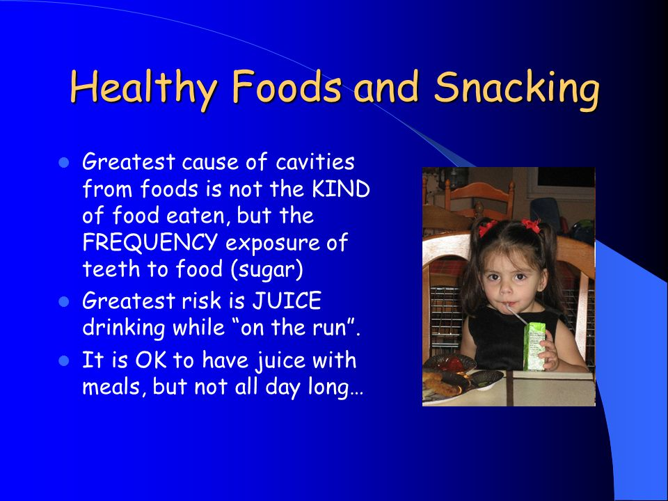 Healthy Foods and Snacking
