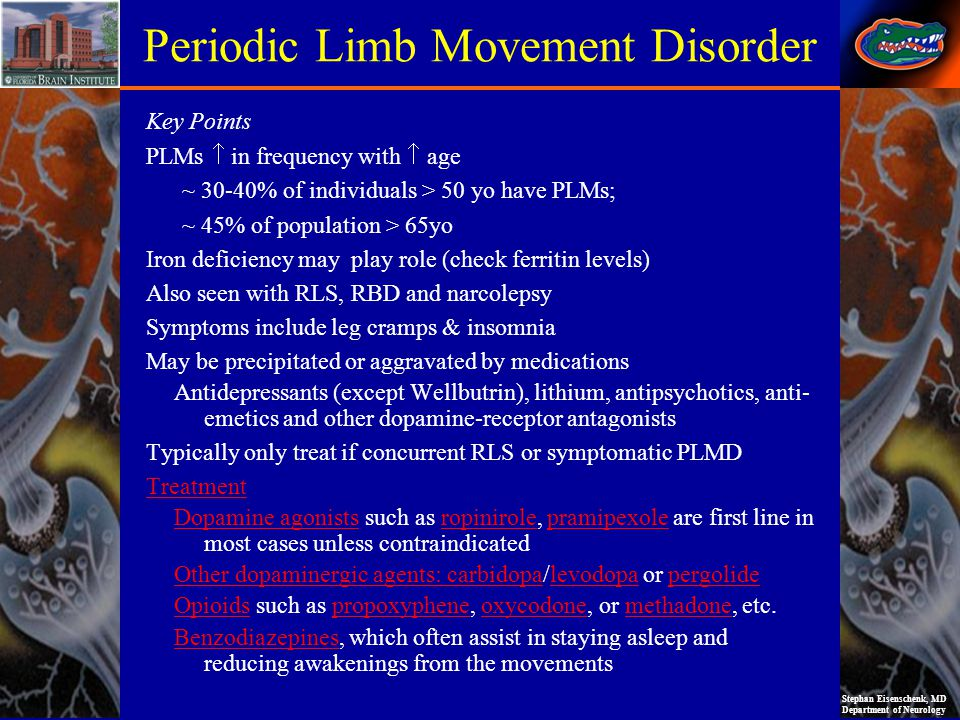Periodic Limb Movement Disorder