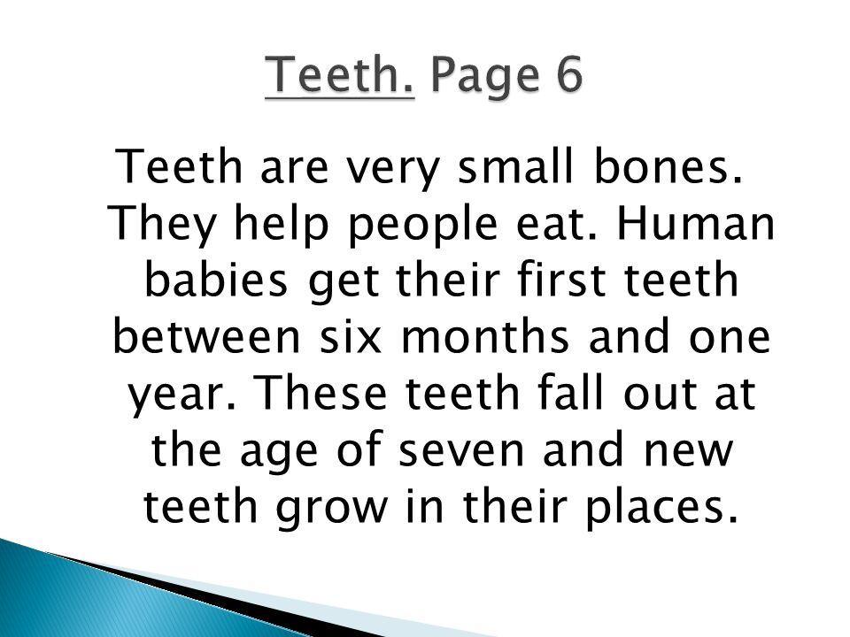 Teeth. Page 6