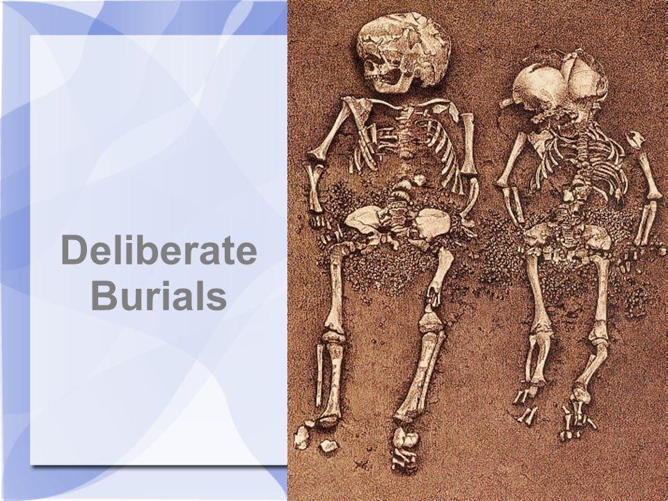 Deliberate Burials