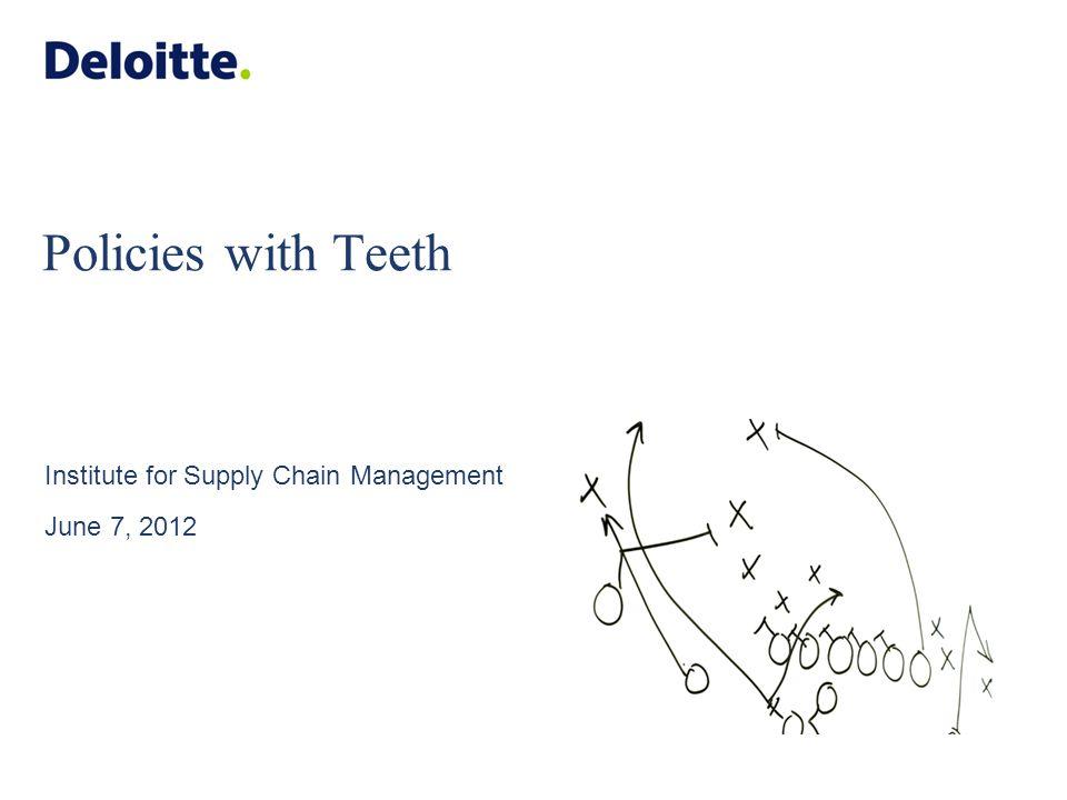 Presenters Daniel Abichandani Manager, Deloitte Consulting