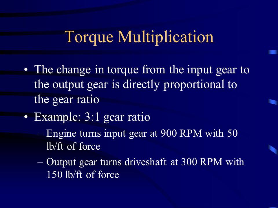 Torque Multiplication