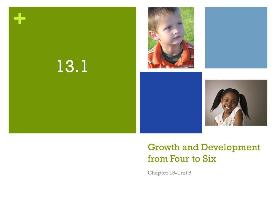 Growth and Development from Four to Six
