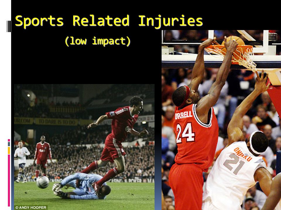 Sports Related Injuries (low impact)