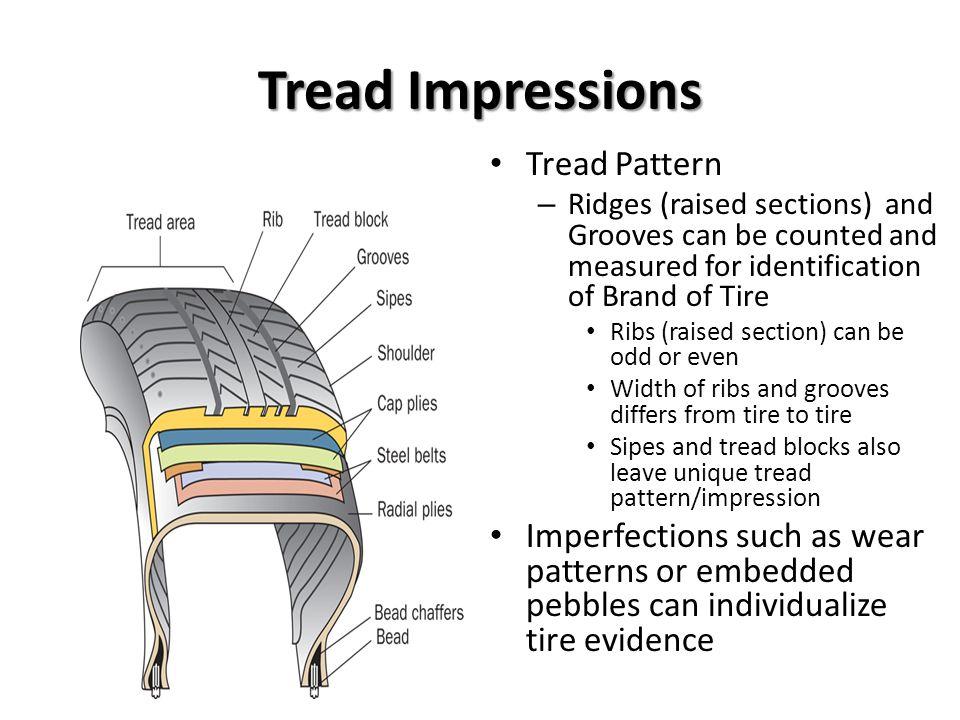 Tread Impressions Tread Pattern