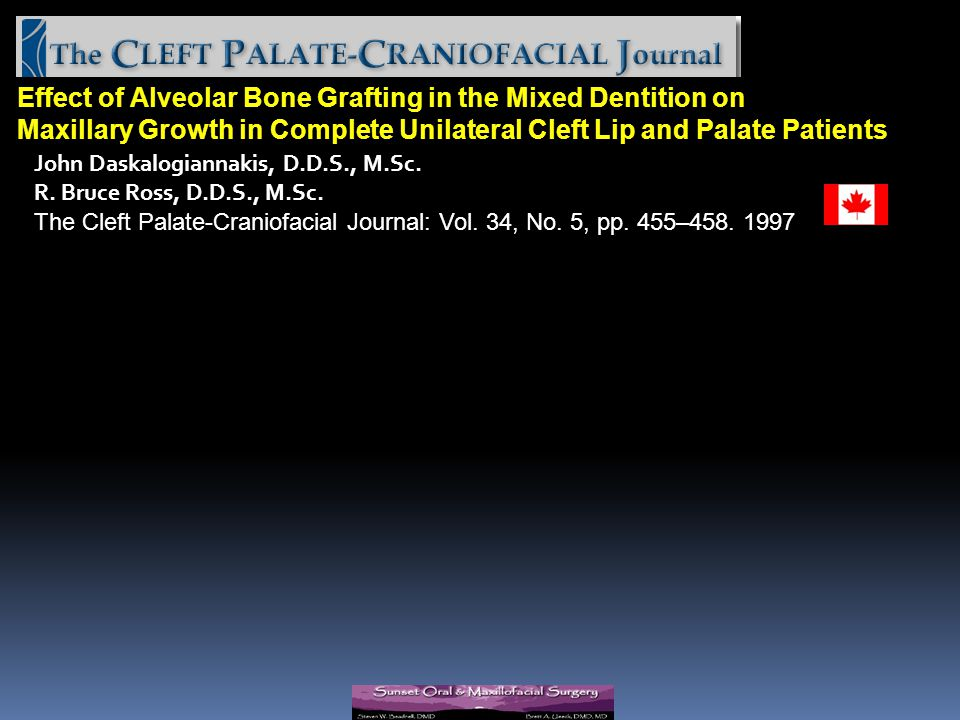 Effect of Alveolar Bone Grafting in the Mixed Dentition on