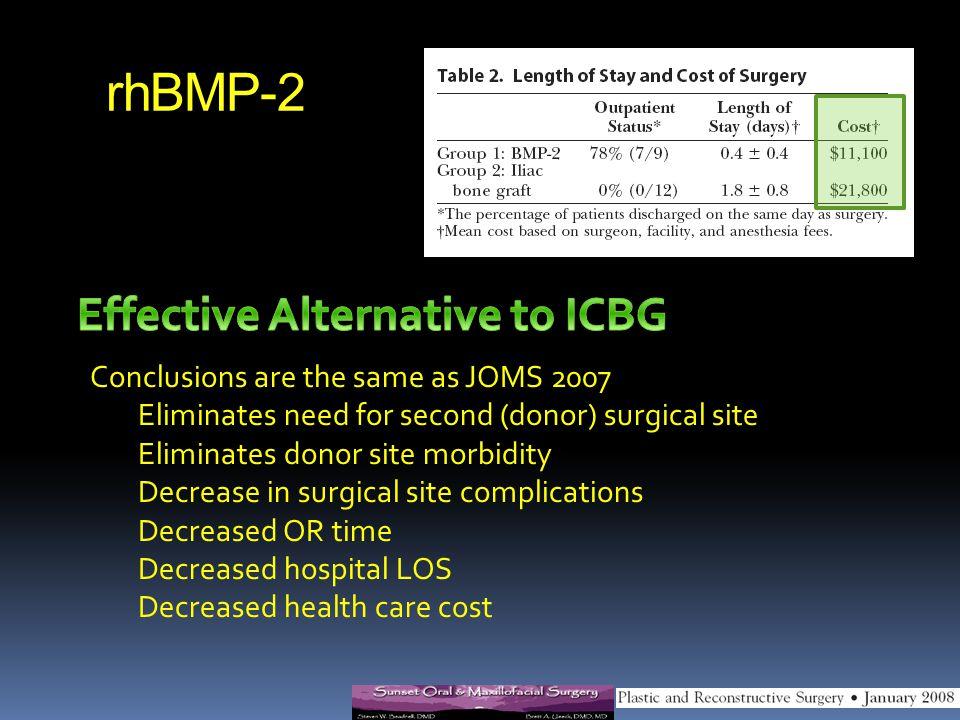 Effective Alternative to ICBG