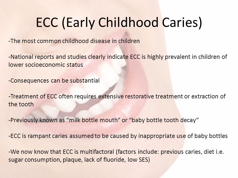 ECC (Early Childhood Caries)