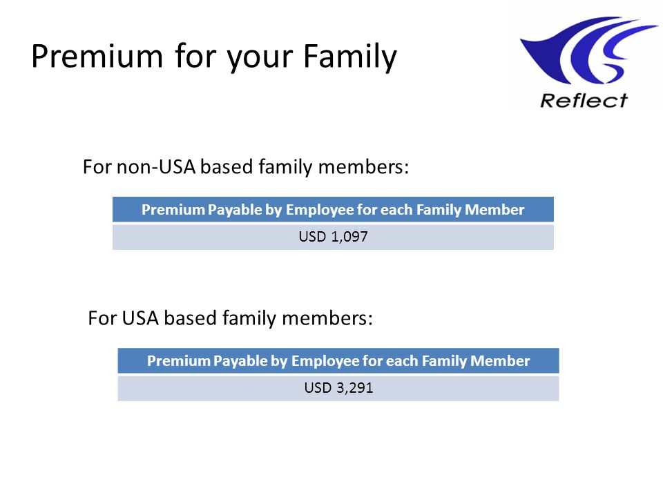 Premium for your Family