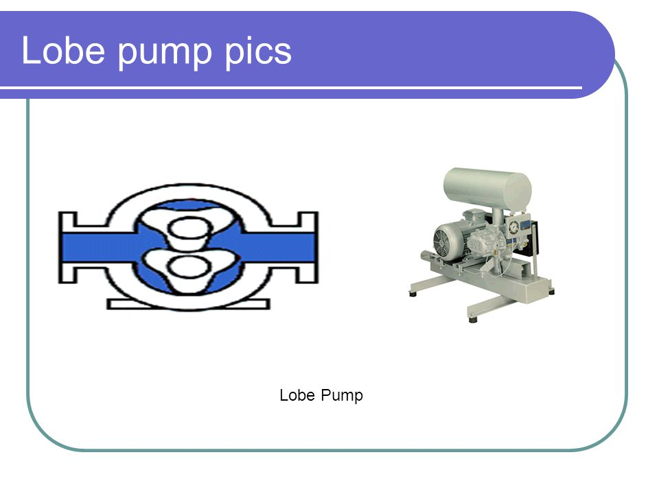 Lobe pump pics Lobe Pump