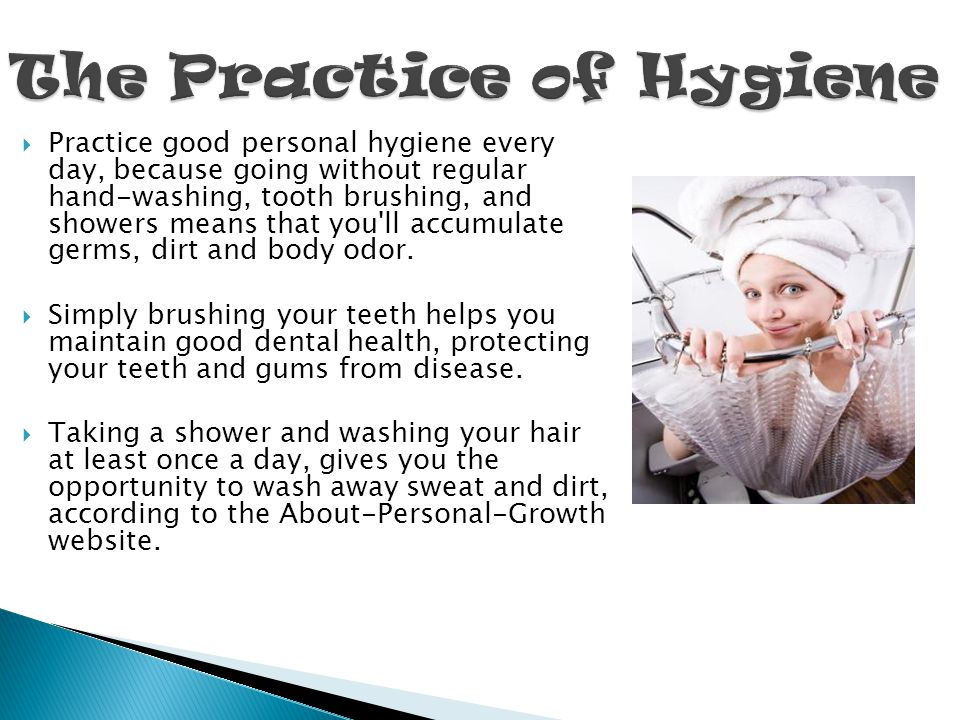 The Practice of Hygiene