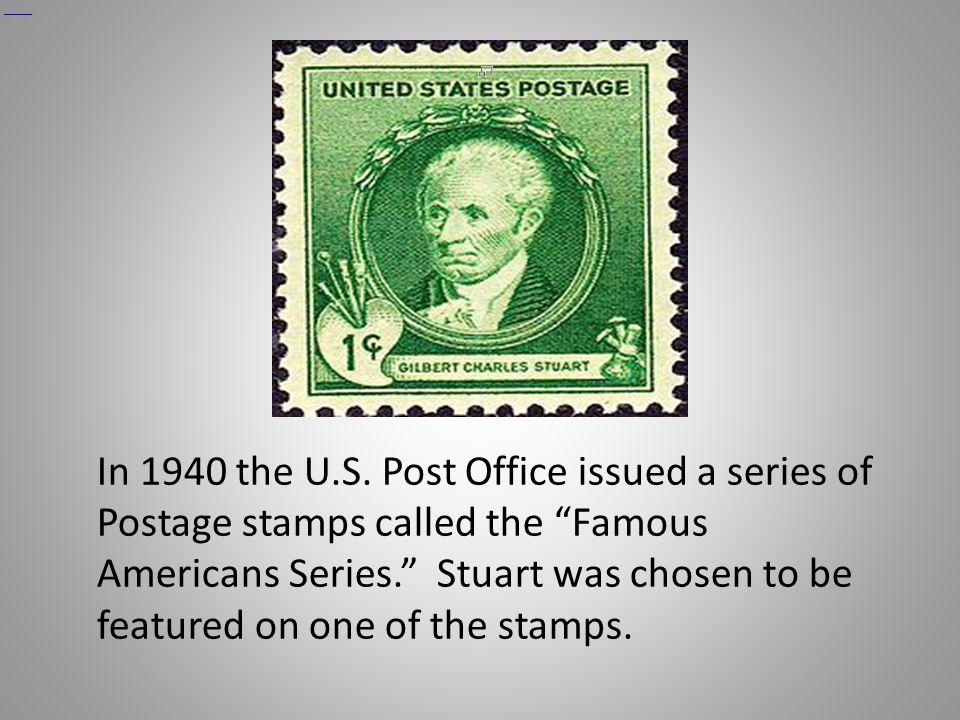 Gilbert Stuart.