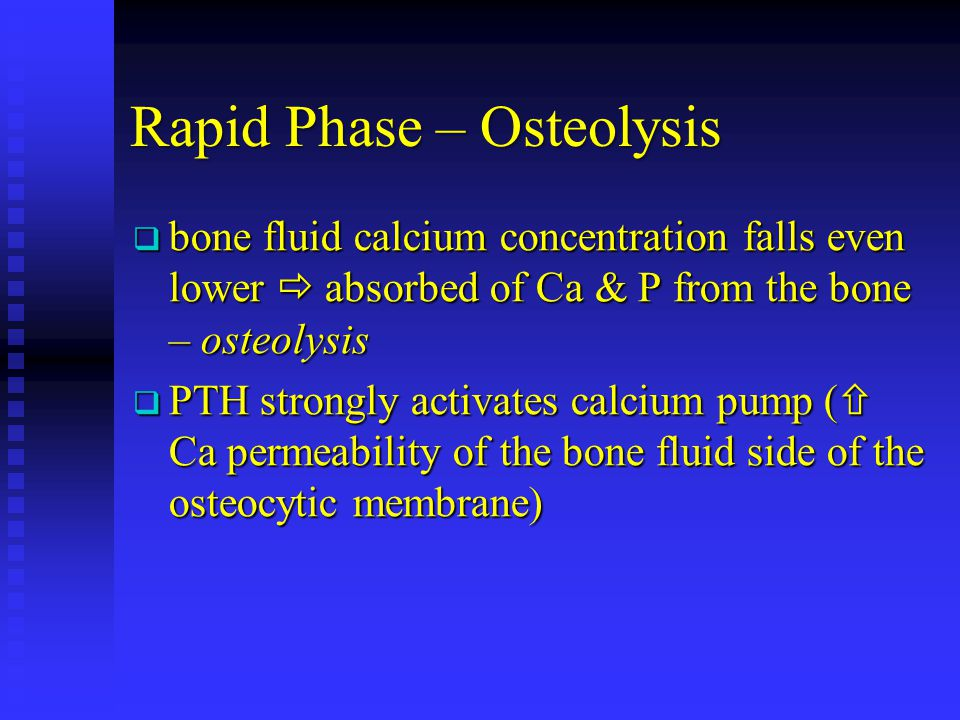Rapid Phase – Osteolysis