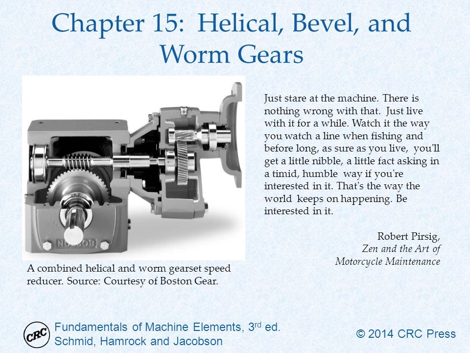 Chapter 15: Helical, Bevel, and Worm Gears