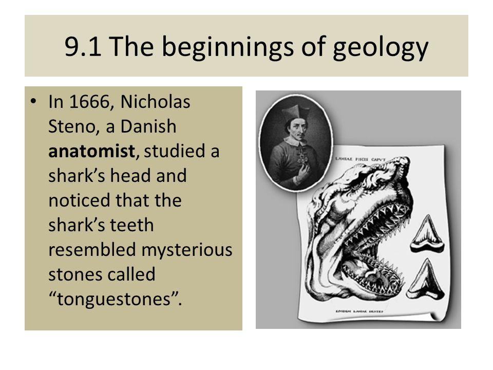 9.1 The beginnings of geology