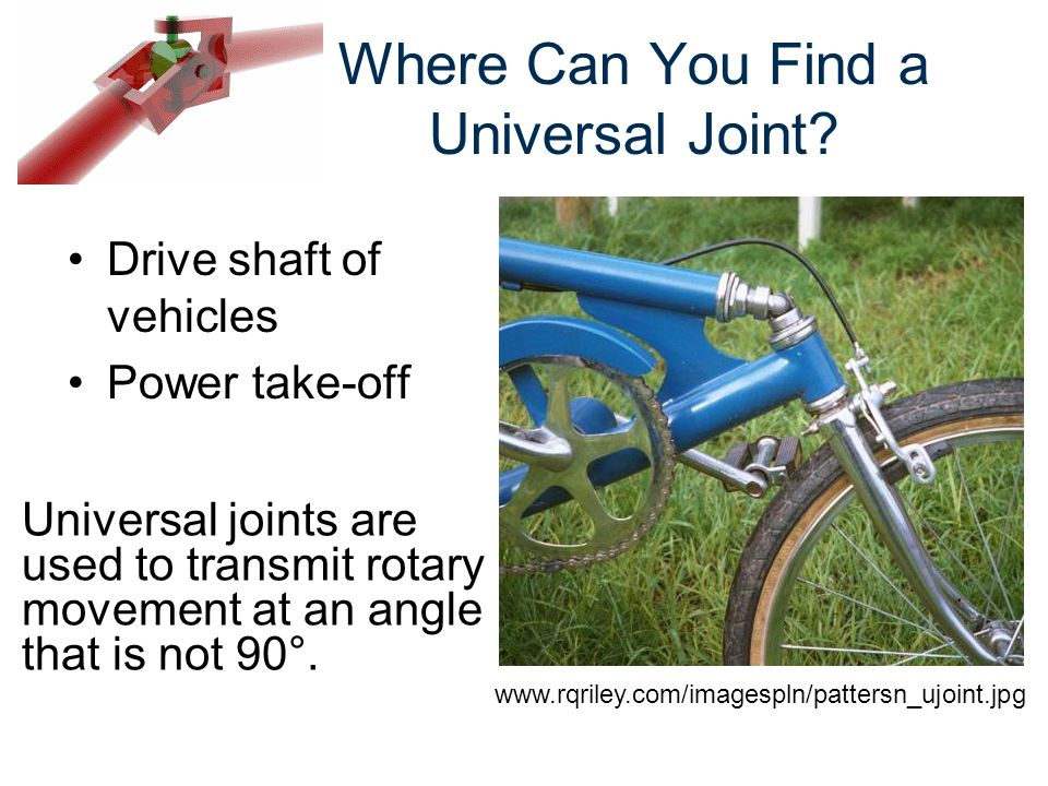 Where Can You Find a Universal Joint