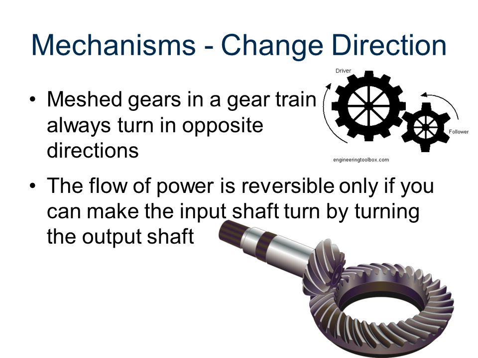 Mechanisms - Change Direction