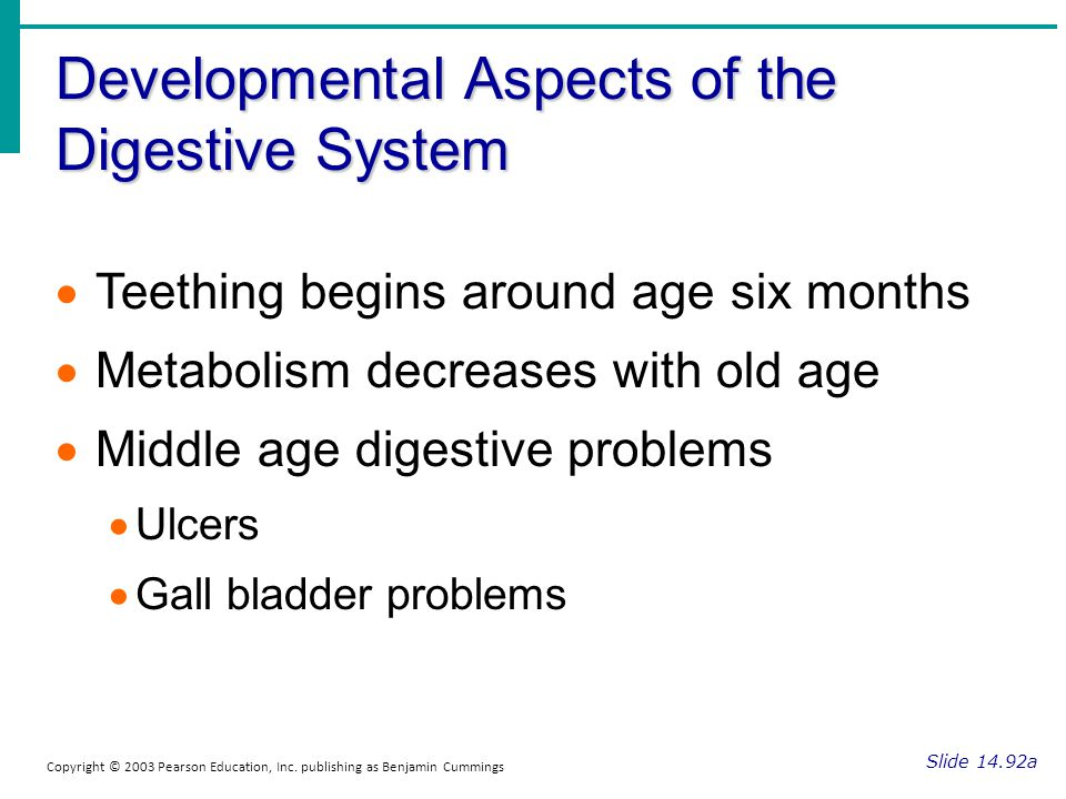 Developmental Aspects of the Digestive System