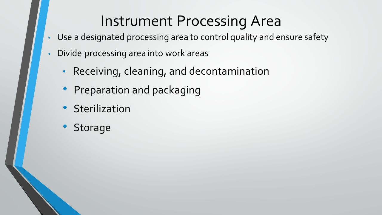 Instrument Processing Area