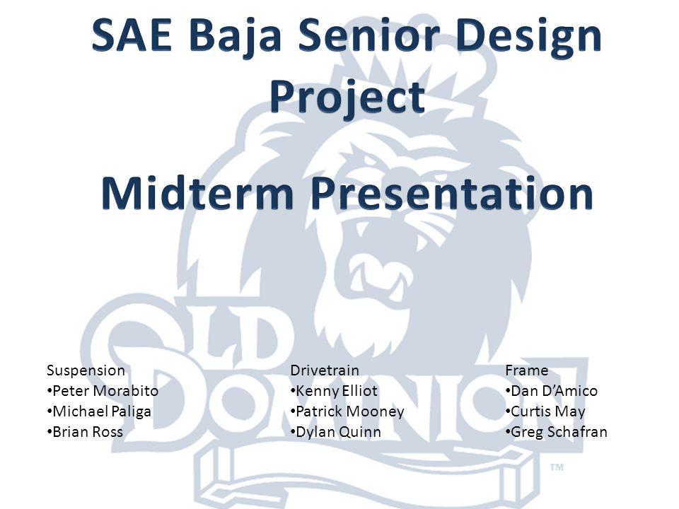 SAE Baja Senior Design Project