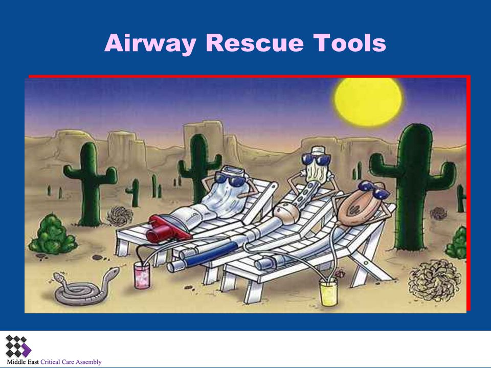 Airway Rescue Tools