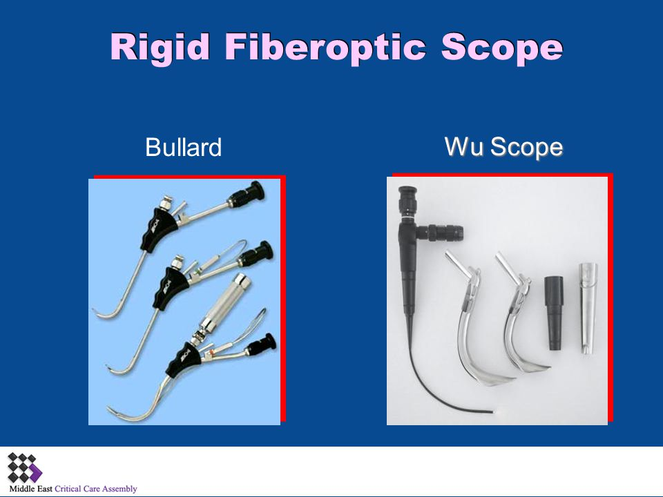 Rigid Fiberoptic Scope