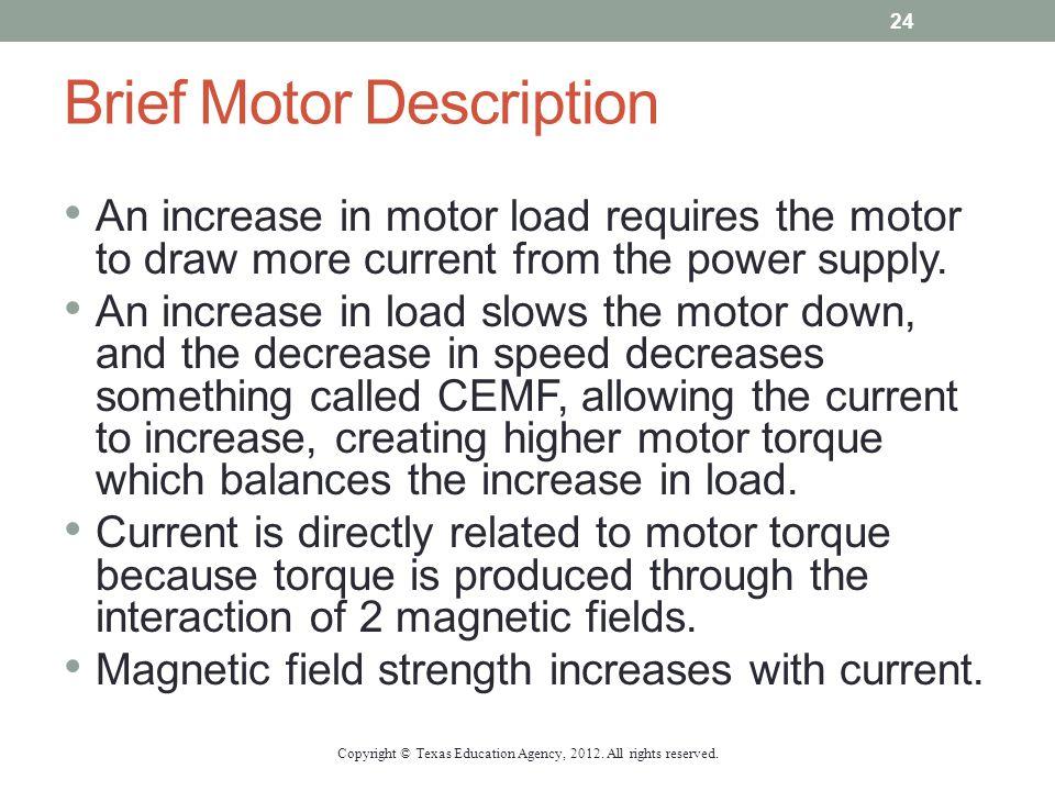 Brief Motor Description