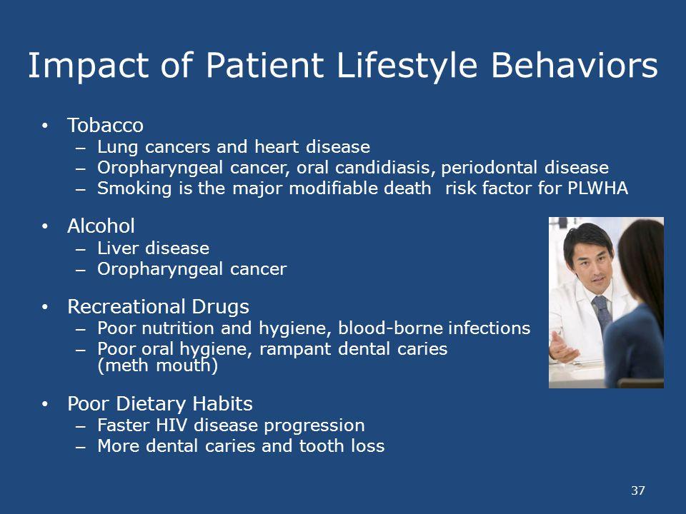 Impact of Patient Lifestyle Behaviors