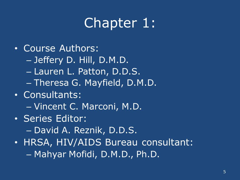 Chapter 1: Course Authors: Consultants: Series Editor:
