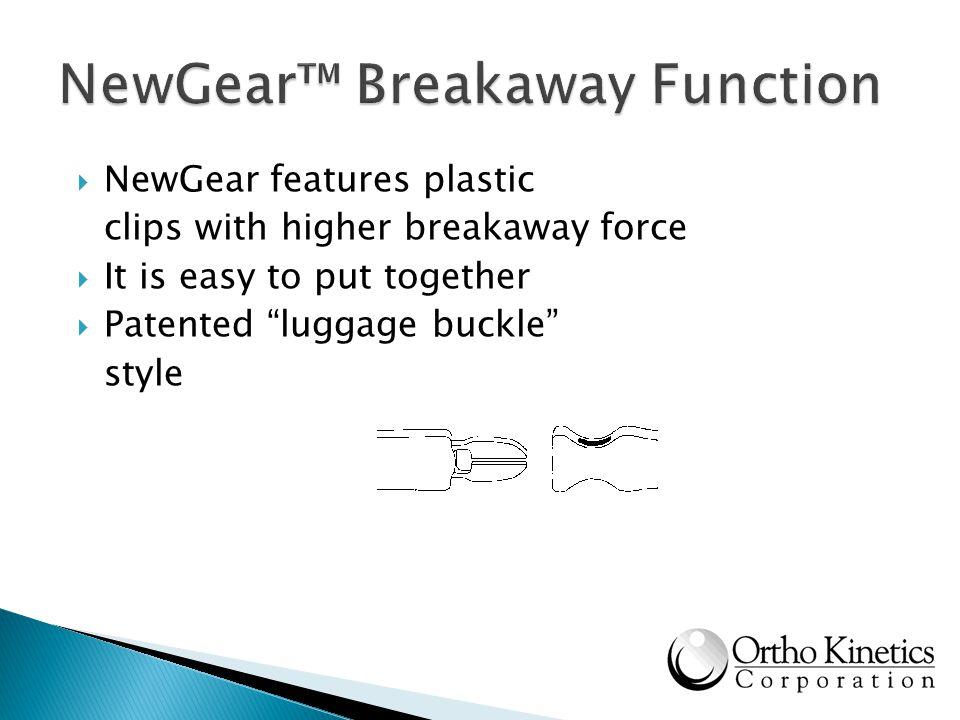 NewGear™ Breakaway Function