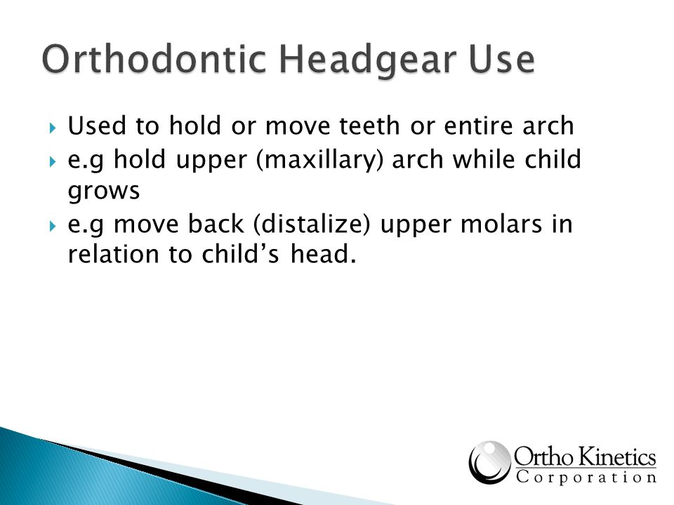 Orthodontic Headgear Use