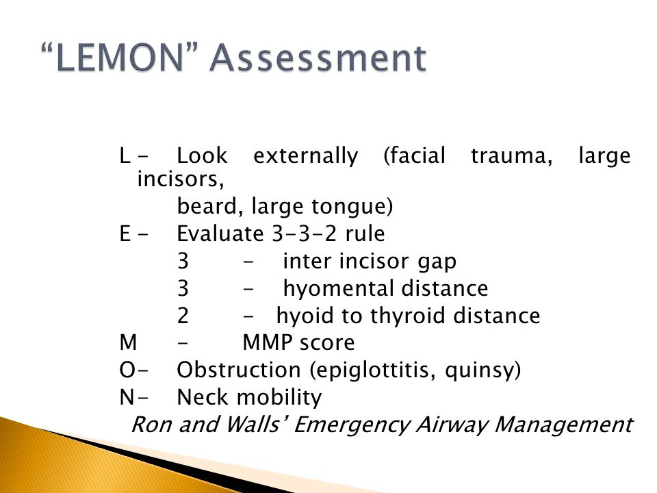 LEMON Assessment