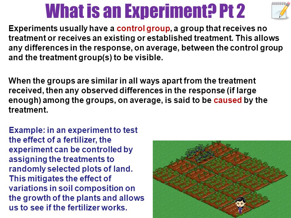 What is an Experiment Pt 2