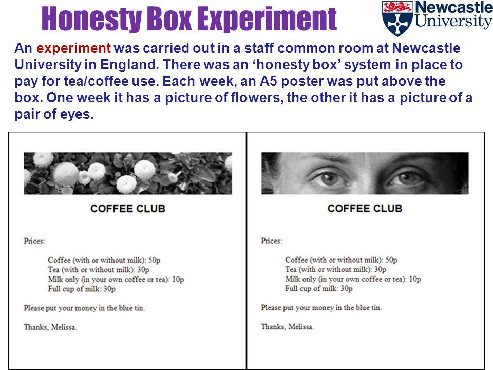 Honesty Box Experiment